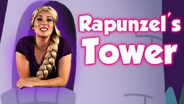 Rapunzels Tower Tour And Full Rapunzel Story - Story Time With Ms Booksy