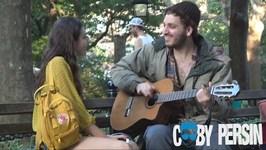 Homeless Man Picks Up Girls Using Amazing Voice