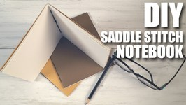 DIY Saddle Stitch Notebook