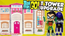 Teen Titans Go Cartoon Network Parody Teen Titans Move To The Barbie Dream House