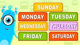 Days Of The Week Song - Momo Beats - Cartoons For Children - Videos For Toddlers By Kids Channel