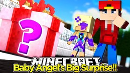 Minecraft Adventure - BABY ANGEL'S BIG SURPRISE!!