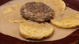 Beef - Best Stuffed Beef Burgers With Biscuits