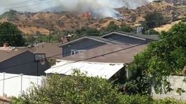 Mandatory Evacuations Issued for Burbank Brush Fire