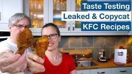 Taste Testing KFC Copycat Recipes