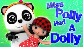 Miss Polly Had A Dolly - Bao Panda Videos - Song For Kids