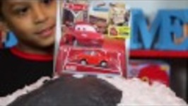 DISNEY CARS SURPRISES! GIANT SOCCER EGG with SURPRISES!