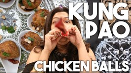 KUNG PAO CHICKEN Meatballs - New Years Eve Special