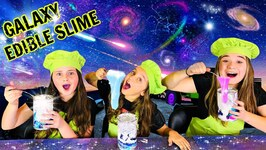 DIY Edible Slime Candy - Make Edible Galaxy Slime