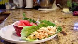 Seafood Lettuce Wraps On A Budget