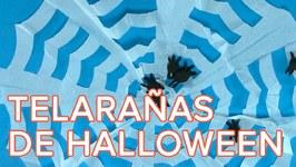 Cómo hacer telaraña para decorar la casa en Halloween  Manualidades sencillas