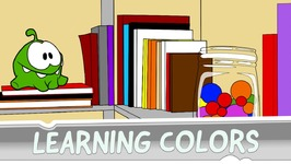 Learning Colors with Om Nom - Candy Can