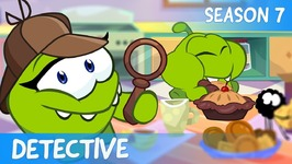 Om Nom Stories- Dream job - Detective - Cut the Rope - Cartoons for Children