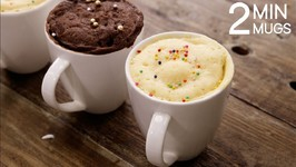 2 Min Mug Cake - Super Soft And Rich Eggless Microwave Cakes