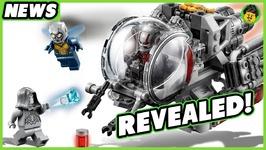LEGO Ant Man and The Wasp Set REVEALED - Brick Show News