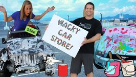 Crazy and Wacky Car Stores Compete for Customers