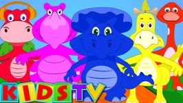 Five Big Dinosaurs - Nursery Rhymes For Kids And Children - Kids Tv Nursery Rhymes