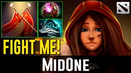 MidOne Legion Commander FIGHT ME Dota 2