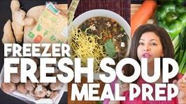Freezer FRESH SOUPS - Meal Prep