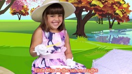 Little Miss Muffet Nursery Rhyme Song For Baby Kids and Children - Song For infant