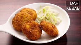 Dahi Kebab - Super Soft And Creamy Veg Kabab