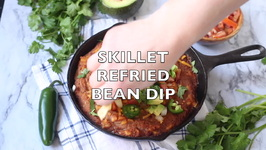 Skillet Refried Bean Dip