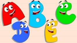 Five Little Alphabets - Original Rhymes By Preschool