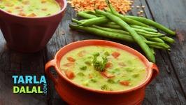 Masala Masooor Dal With Vegetables