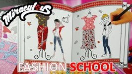 Miraculous Ladybug DIY Kit Fashion School Dressup Set