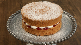 Classic Victoria Sponge Cake Recipe - Homemade Sponge Cake - Tea Time Cake Recipe - Bhumika