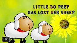 Little Bo Peep Has Lost Her Sheep - Nursery Rhymes - Baby Songs - Kids Song