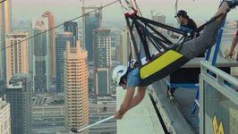 Dubai Crown Prince Shares Footage of Himself on Zipline Above Marina