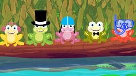 Five Little Speckled Frogs - Kids Tv Nursery Rhymes - Kindergarten Video For Children