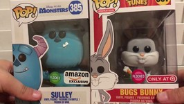Funko Pop Flocked Sulley Amazon Exclusive Review