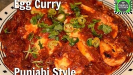 Egg Curry (Anda Curry) - Authentic Punjabi Style
