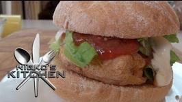 McDonalds Chicken Mcchamp Burger