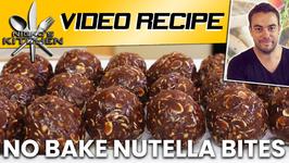 No Bake Nutella Bites