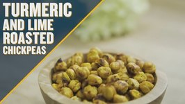 Tasty Turmeric And Lime Roasted Chickpeas