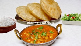 Express Meal - Chole Bhature - Chickpea Curry With Fried Bread