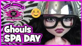 Monster High Doll Show Skull Academy s3 ep11