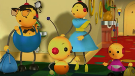 S01 E03 - Nap for Spot/The Monster Movie Night/The Top Dog Fish - Rolie Polie Olie