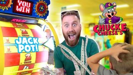 Chuck E Cheese Family Ticket Battle Arcade Games And Family Fun