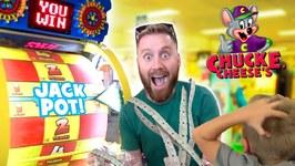 Chuck E Cheese Family Ticket Battle Arcade Games And Family Fun