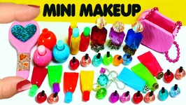 How To Make 10 Miniature Makeup - Beauty Items - Cosmetic Products - 10 Easy DIY Doll Crafts