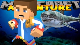 Minecraft - Little Donny Adventures - SHARKS, JAWS AND MORE SHARKS!
