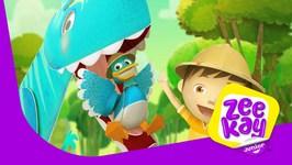 Mr T- Rex - Zack And Quack - Episode 12