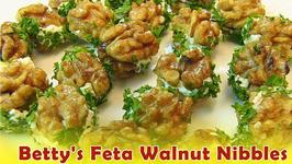 Betty's Feta Walnut Nibbles