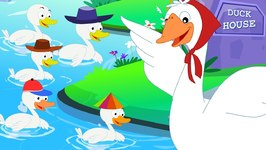 Five Little Ducks - Nursery Rhymes - Kids Songs - Baby Rhymes