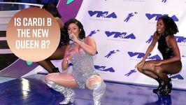 Cardi B Beats Beyonce's Record