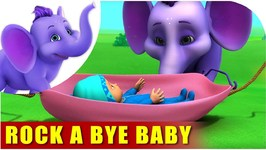 Rock A Bye Baby - English Song For Kids